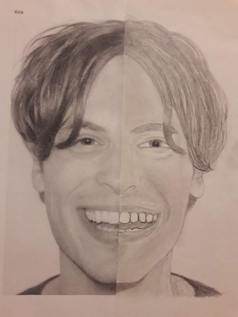 Matthew Gray Gubler Drawing Criminal Minds Amino