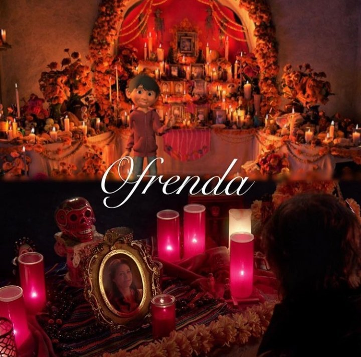 OnceUponATime Featured An Ofrenda Alter Aztec Marigolds A Reference To The Disney Film Coco