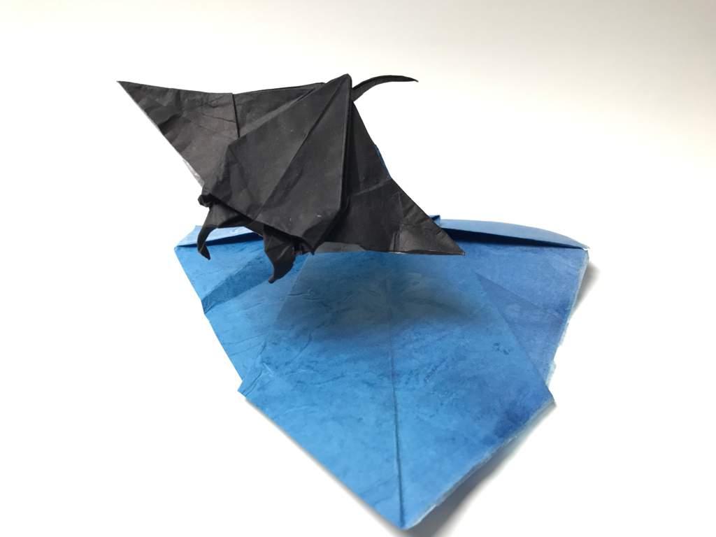 my origami manta ray diagrams are available in origamiusa s the rh aminoapps com