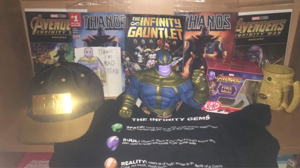 Thanos Shrine | Marvel Amino