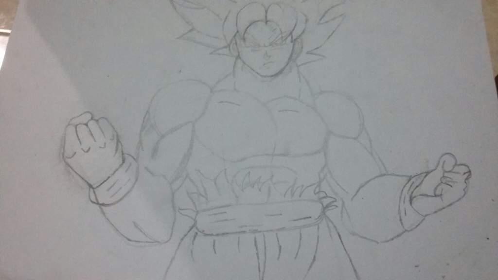 Goku Ultra Instinto Dominado Dibujarte Amino