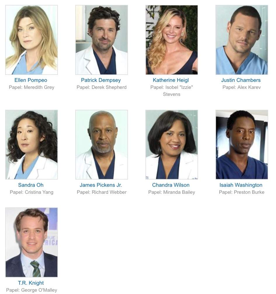Reparto De Greys Anatomy 1 14 Spoilers Alert Parte 1 Greys