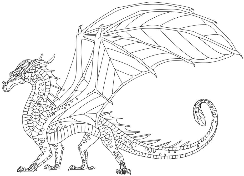 The gallery for --> Wings Of Fire Nightwing Coloring Pages