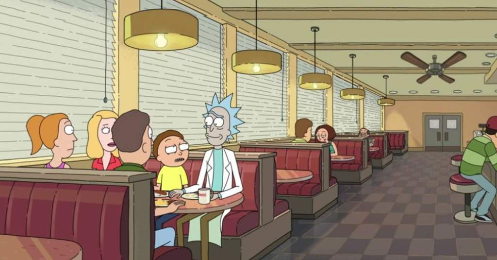 Is Shoneys A Restaurant Or Bar A Rick And Morty Theory Animation