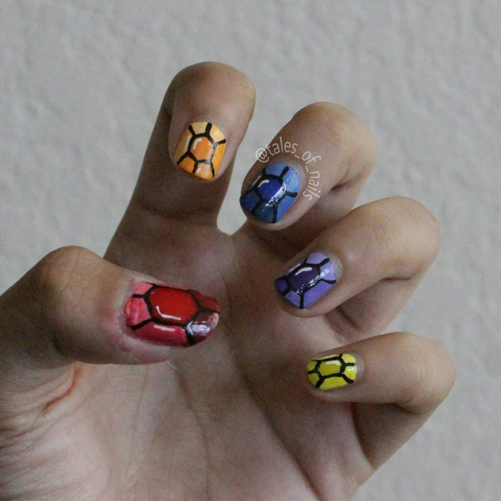 Infinity War Nails + Tutorial! | Disney Amino