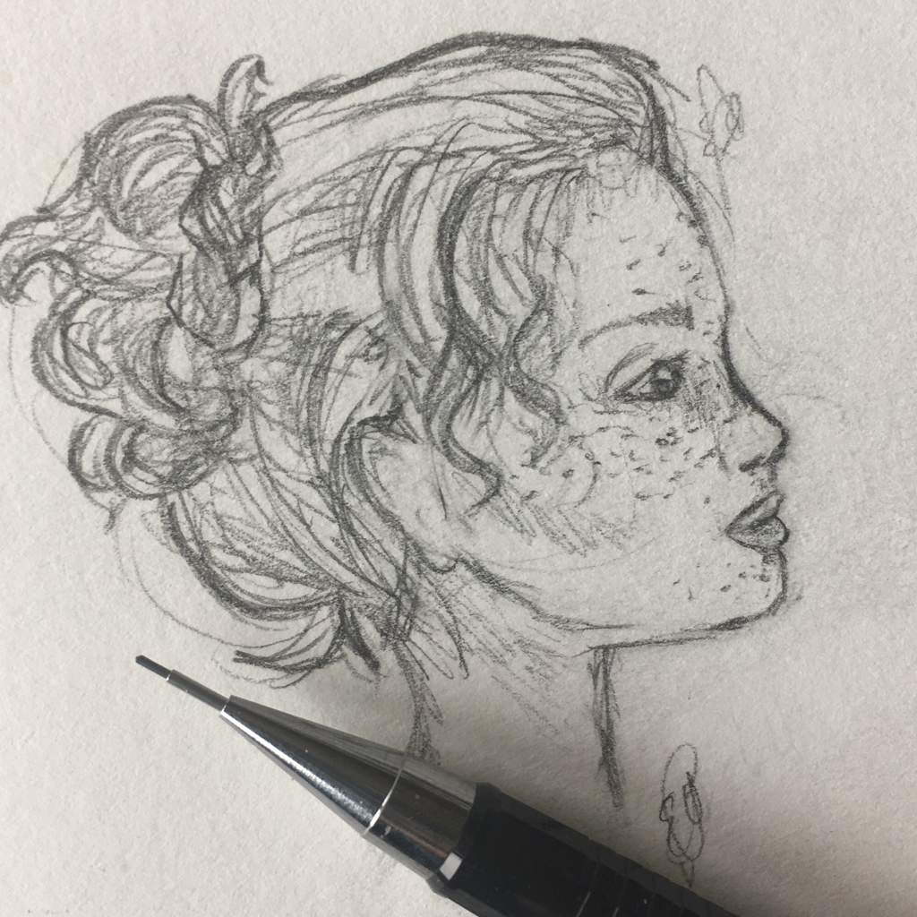 profile sketching art crafts and diys amino