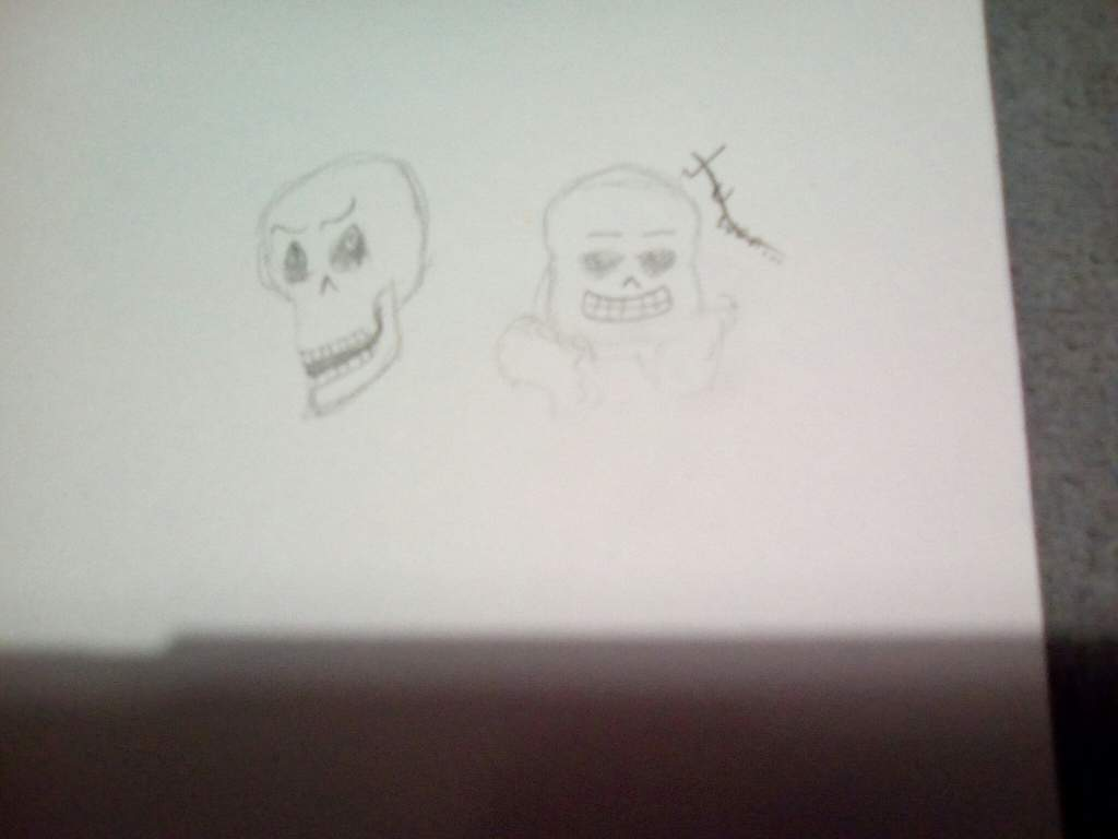 My dad drew sans and Papyrus    | Undertale Amino