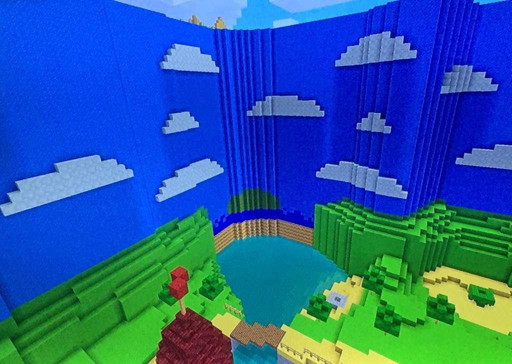 Super Mario 64 Peach\'s Castle Exterior MINECRAFT | Mario Amino