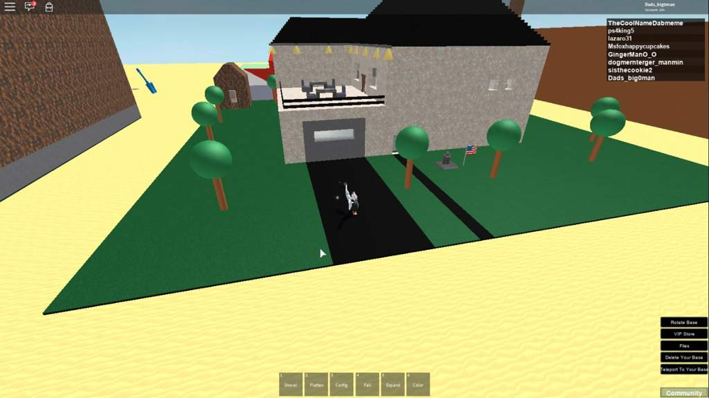 Building A House In Roblox Roblox Amino