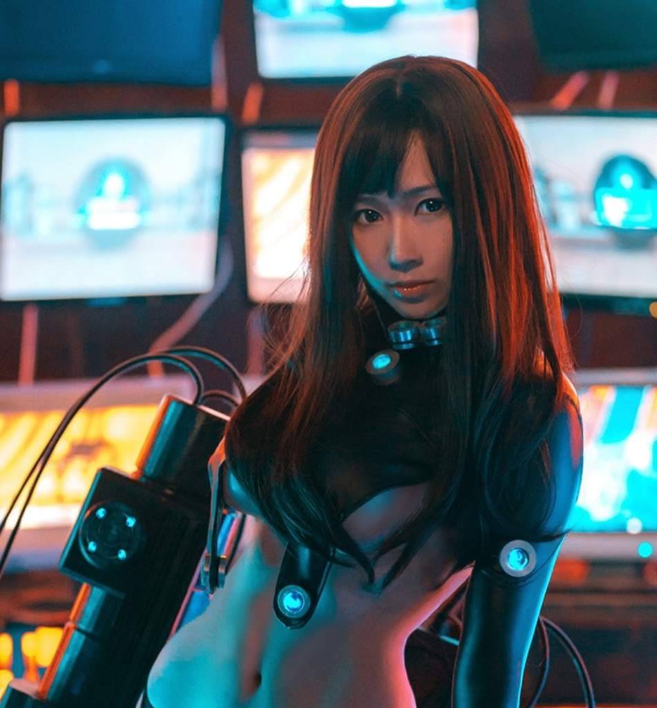 Gantz Yokai: Reika Shimohira🗡 (💀Gantz💀) Cosplay By 一罐儿一 😍👌