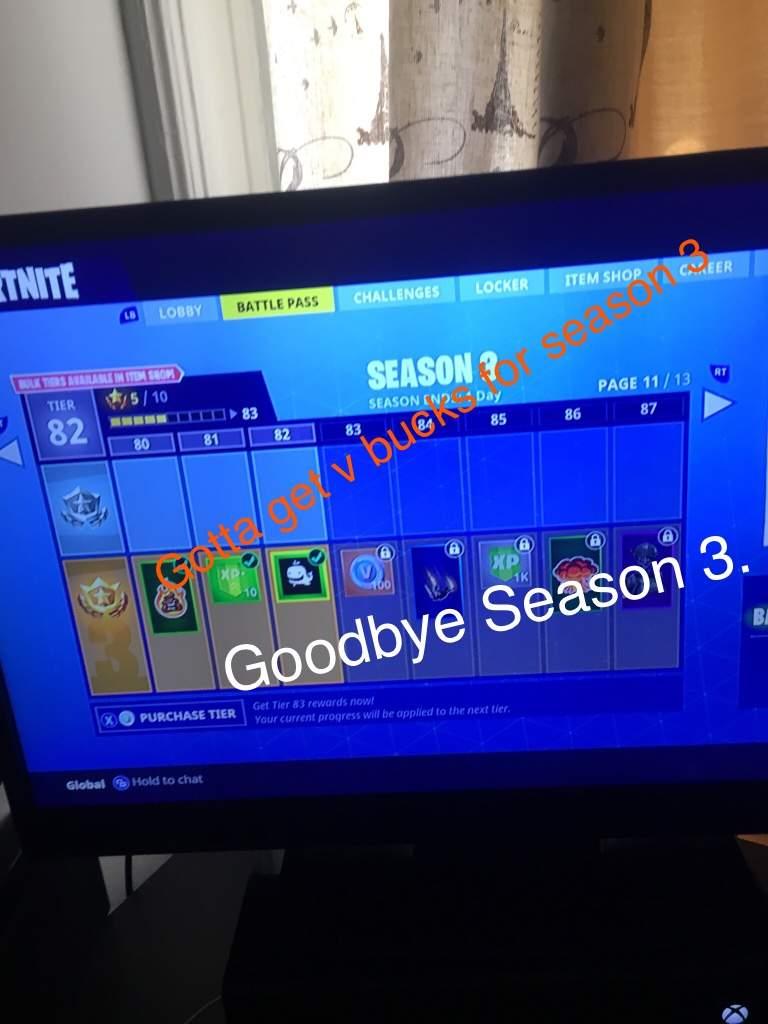 Fortnite season 3 lobby background