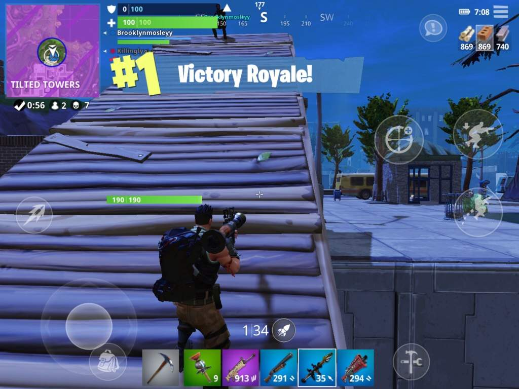 Me And John Wick For The Squad Win | Fortnite: Battle Royale Armory Amino