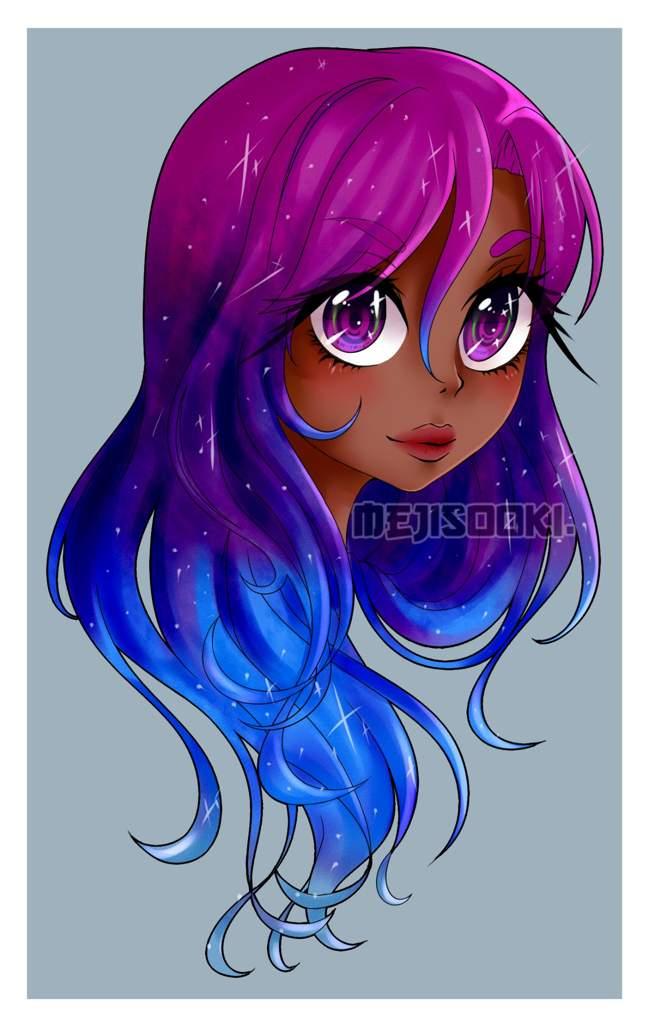 Galaxy Girl | Art Amino