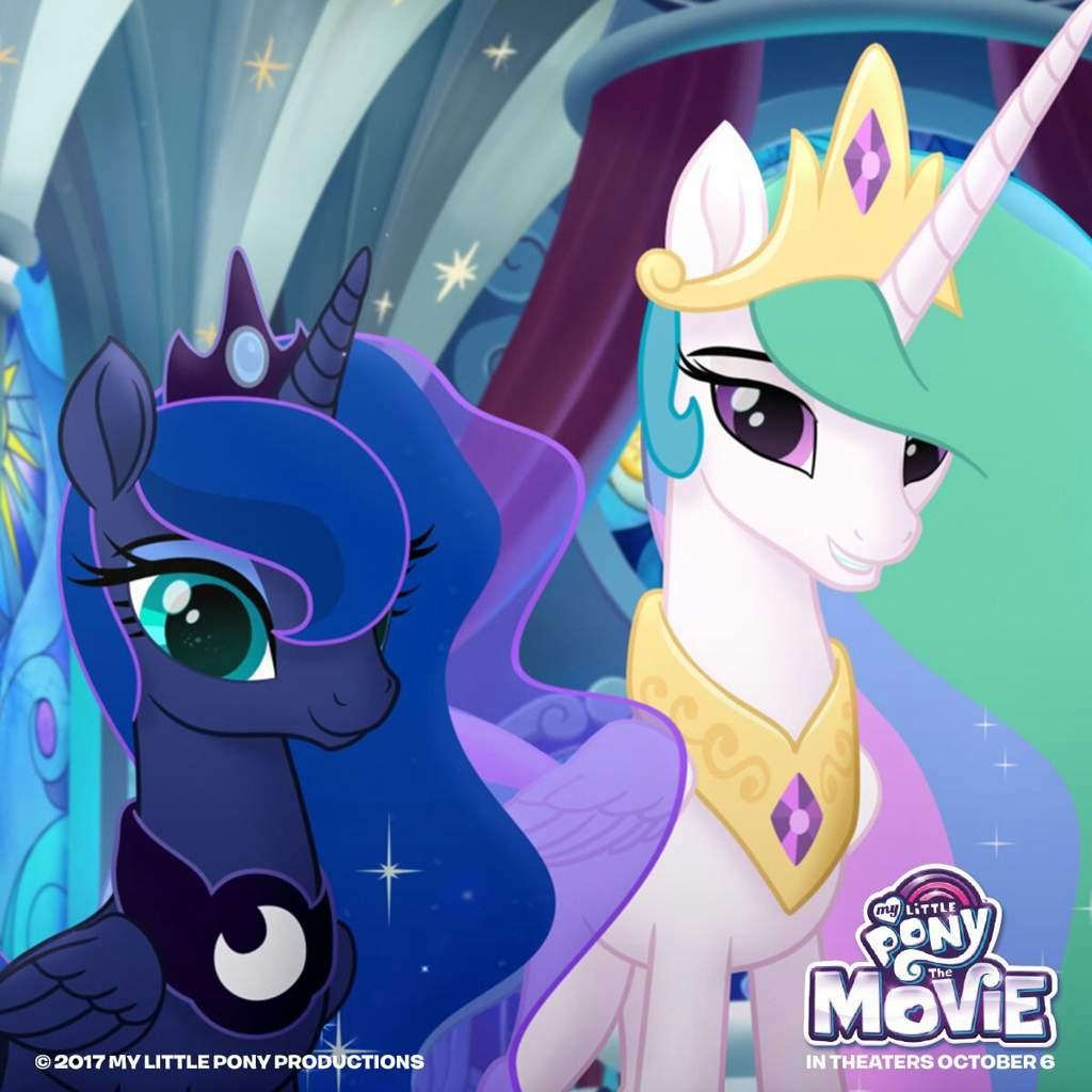 My Little Pony The Movie Princess Celestia And Princess Luna Mlp Equestria Girls Amino
