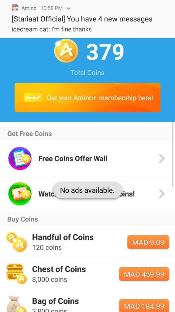 How to get Amino+ coins | Stariaat Official Amino