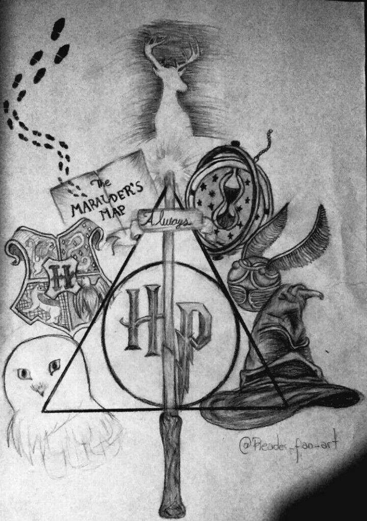 Dibujo Potterhead Harry Potter Español Amino