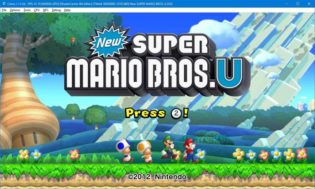 NSMBU On Cemu + Update + Twitch Stream | Mario Amino