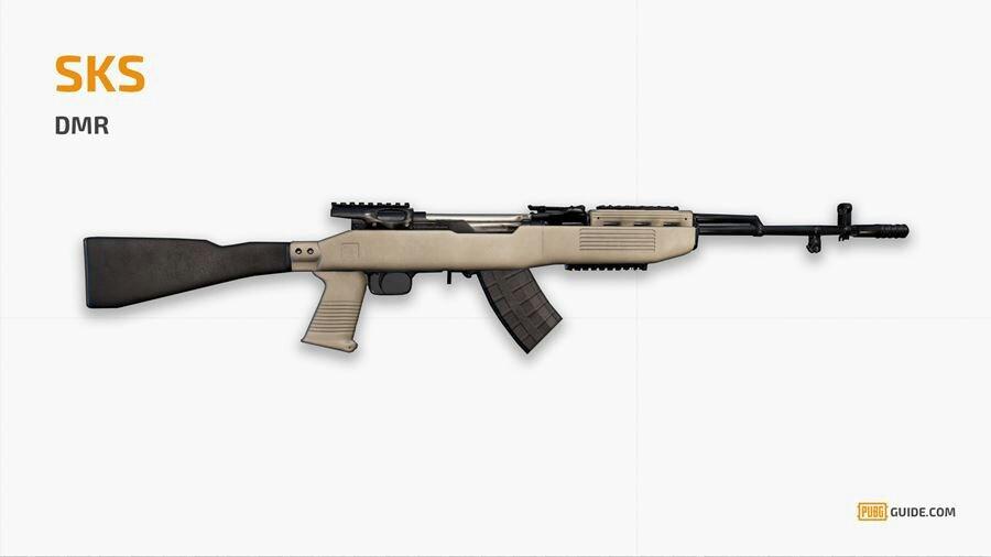 SKS) Para mi gusto una arma versátil | PUBG •MOBILE• Amino