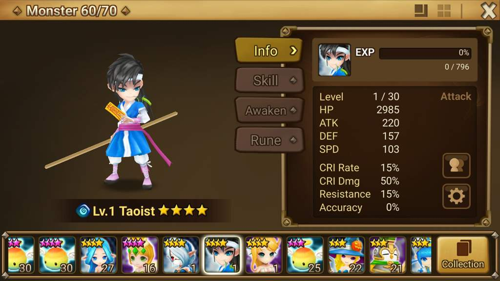 Rina Summoners War Runes