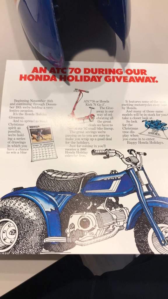 Honda christmas giveaway