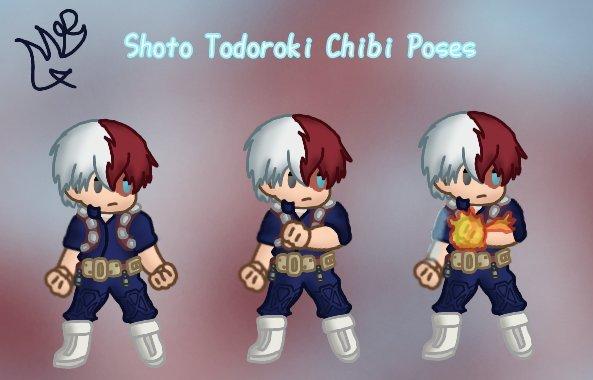Shoto Todoroki Chibi Art My Hero Academia Amino