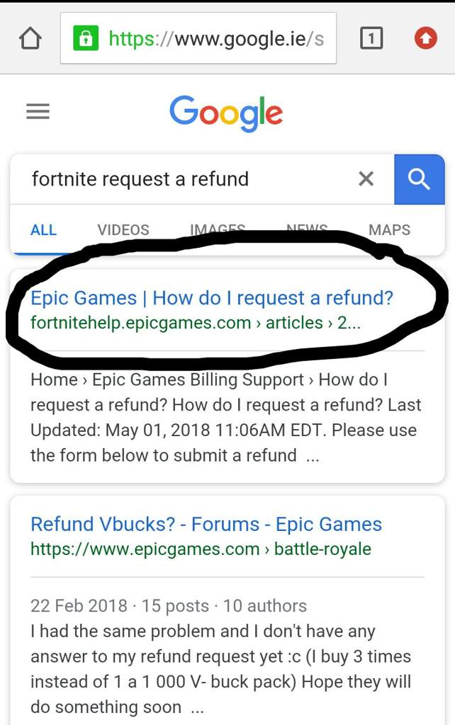 PSA: You can refund items online | Fortnite: Battle Royale