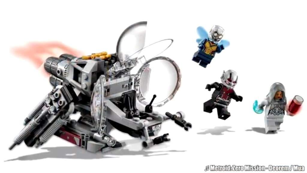 Set LEGO Ant Man and The Wasp revelado   •Cómics• Amino