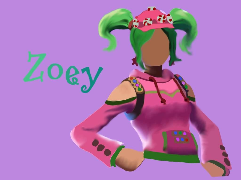 Zoey Fortnite Battle Royale Armory Amino