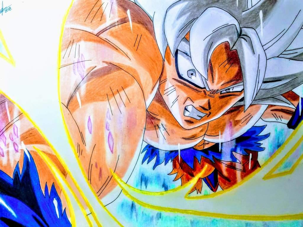 Dibujando a Goku Migatte no Gokui Dominado - DBS - TheAlonsoART | DibujArte  Amino