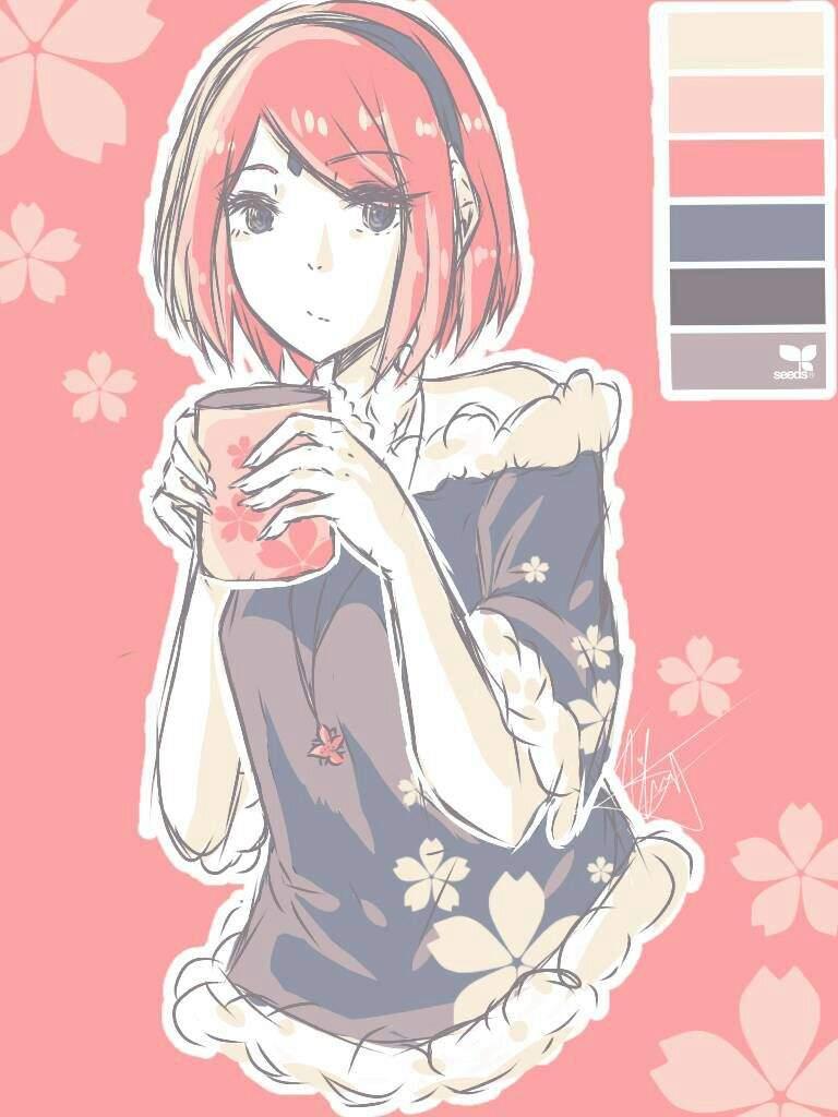 Haruno Sakura Fanart Naruto Amino