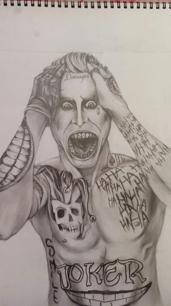 Suicide Squad Joker Pencil Drawing Enjoy Art Amino