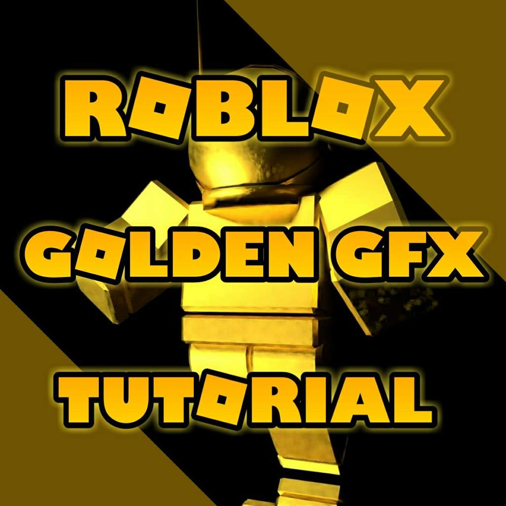 How To Make A Golden Roblox Gfx In Blender D Roblox Amino