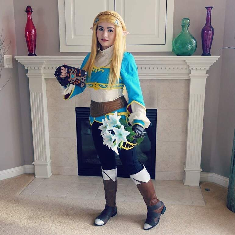 Breath Of The Wild Princess Zelda Cosplay Gamer Girls United Amino