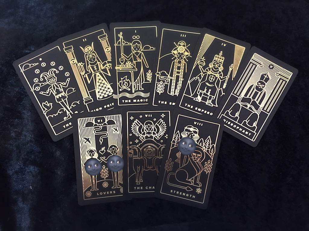 Introducing My Tarot Cards: Golden Thread Deck | The Witches
