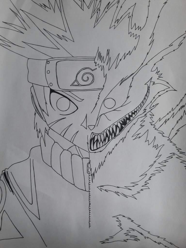 Imagenes De Naruto Zorro De 9 Colas Para Dibujar Komik Terbaru