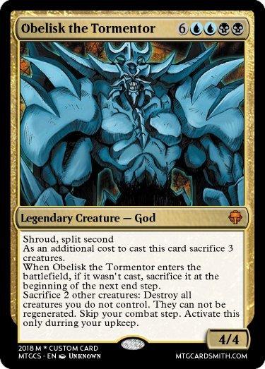 how to kill mtg god cards