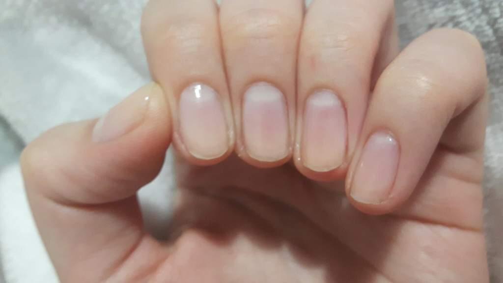 Nail growth update; 1 month   Nail Art Amino