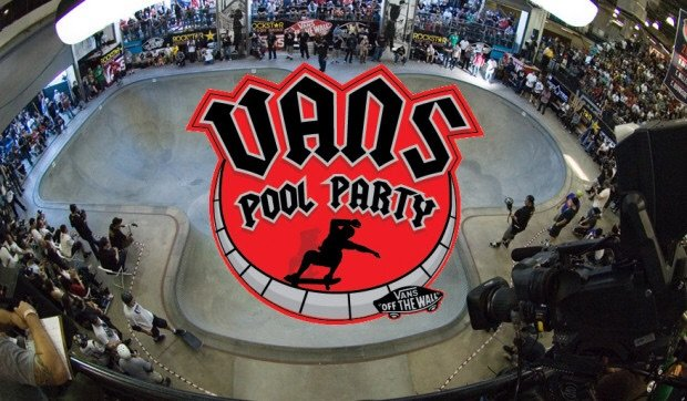 bd3896394cd9b4 The Vans Pool Party is a unique skateboarding event that brings together  the biggest names in deep bowl skateboarding - from the undisputed Legends  of ...