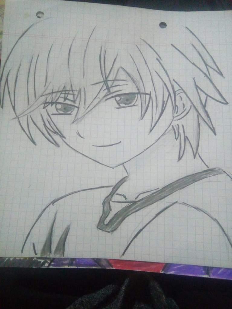 Dibujo De Yuu Otosaka Charlotte Cap 1 O 2