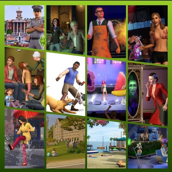 The Sims 3 Expansion pack challenge | Sims Amino