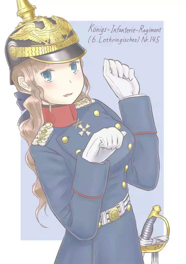 German Anime Girl