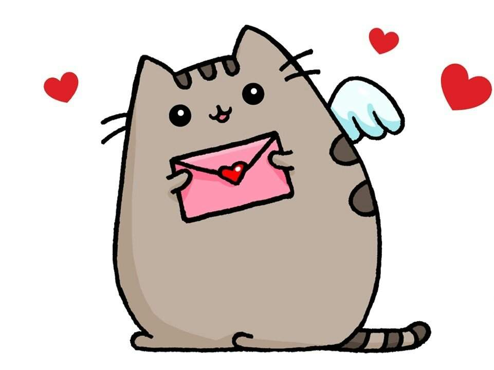 Картинки кота пушина единорог - Топ Фото Приколы