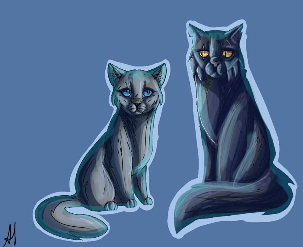 Картинки котов воителей пепелица