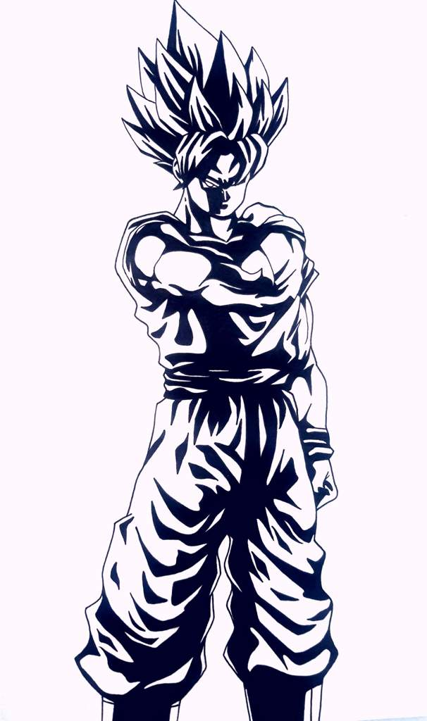 Goku Ssj En Noir Et Blanc Dragon Ball France Amino