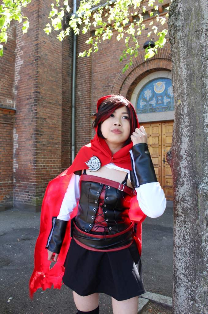 Rwby Ruby Rose Cosplay Timeskip Vol 4 5 Rwby Amino