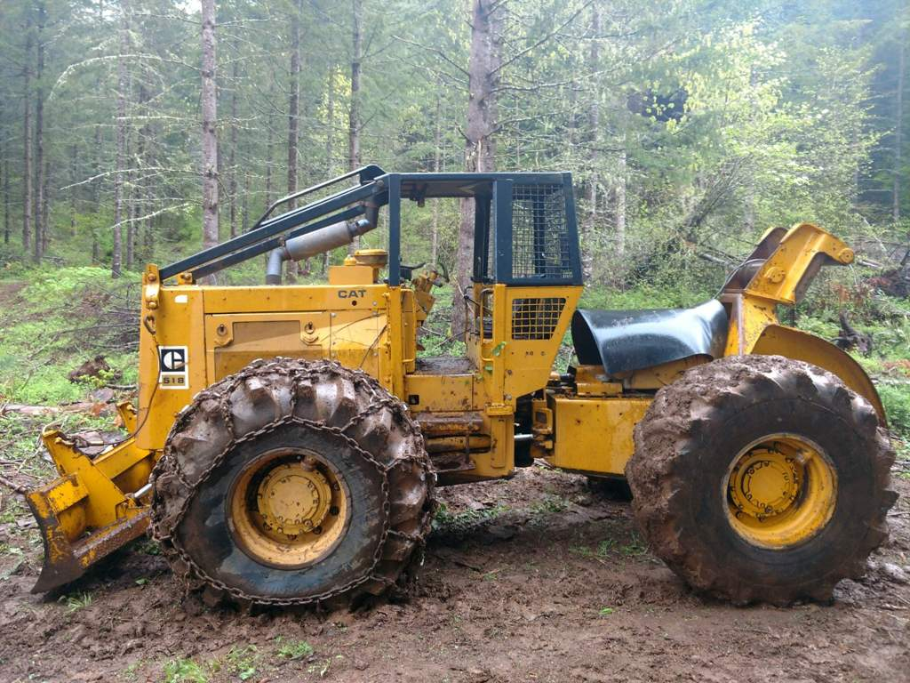 Cat 518 skidder  | Off-Road Amino