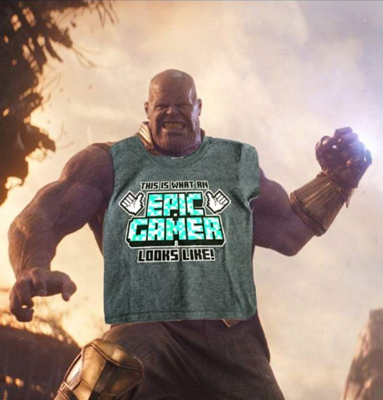 Thanos Is An Epic Gamer