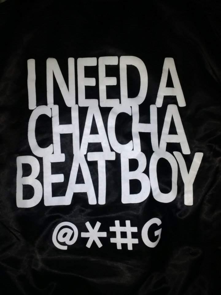1e3ba1f49 Cha Cha Beat Boy Jacket For Sale - Medium Size | AOMG Amino
