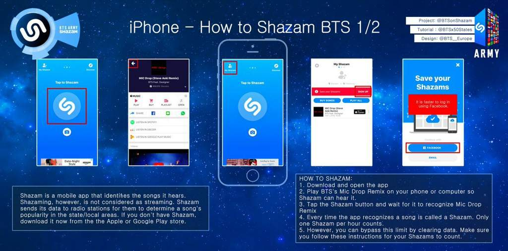 All About Shazam   ARMY's Amino