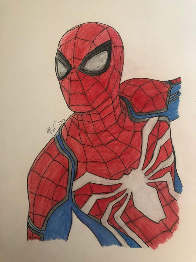 Spider man ps4 drawing anyone